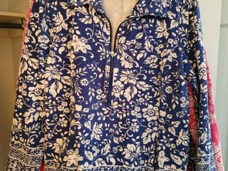 lot of 5 Pull Over Susan Graver Sweatshirts with Pockets Size large
