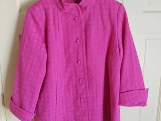 linea by louis Dell Olio Pink Jacket Size large