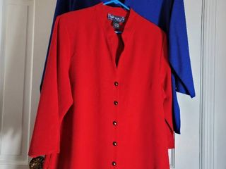 lot of 2 Red and Blue Susan Graver Blazers