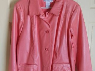 Susan Graver Style Peach Jacket Size large