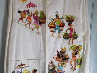 Bob Mackie large Embroidered Jacket