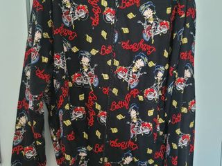Betty Boop Zip Up Size large