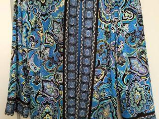 Joan Rivers Blue Blazer Size Medium