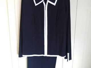 Black and White Dialogue 2 Piece Outfit Size 16