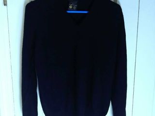 Black St  Michael Cashmere Sweater GB Size 14