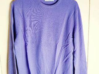 lavender Cashmere by Pringle Sweater Made in Scotland