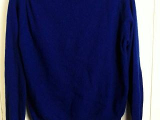 Navy Cashmere Sweater by Murray Bros  Scotland
