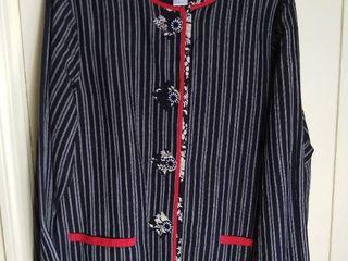 Koos of Course Reversible Black White Red Jacket Size large