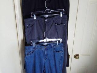 3 Pairs of Susan Graver Pants Size 16