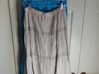 2 Susan Graver Skirts Size large