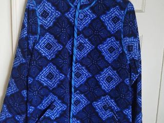 Koos of Course Reversible Blue and Black Jacket Size large