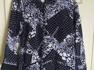 Black and White Koos of Course Reversible Jacket Size large