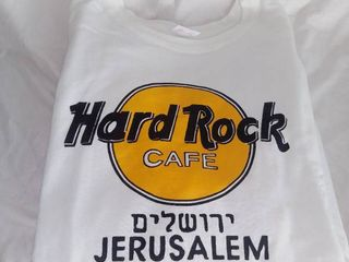 Xl Hard Rock Cafe Jerusalem Sweatshirt