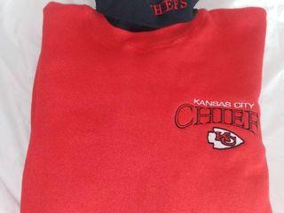 Xl Kansas City Chiefs Turtleneck Sweatshirt