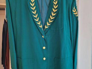 Forrest Green Bob Mackie Womans Blazer Size large