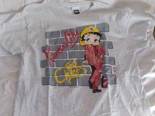 Xl Betty Boop Kansas City Chiefs T Shirt