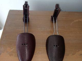 A Vintage Pair Of Plastic Shoe Forms