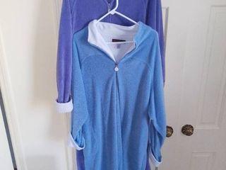 Pair of Stan Herman Fleece Nightgowns