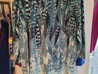 lot of 5 Susan graver blouses all sides large