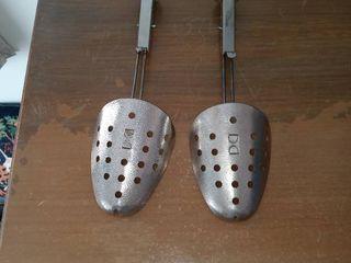 Pair Of Vintage Metal Shoe Forms