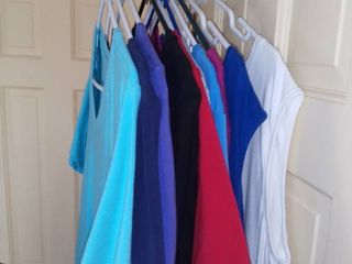 lot of 10 Denim and Co  Short Sleeves Dresses Size large