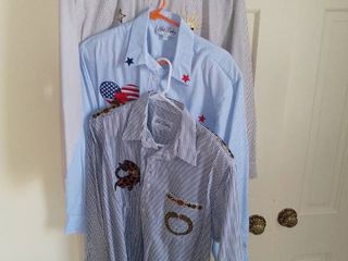lot of 3 Get lucky long Sleeved Shirts Size large