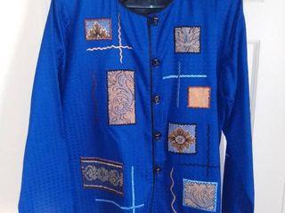 Indigo Moon Blue Jacket