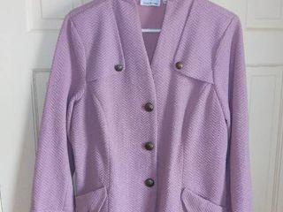 Joan Rivers Cotton Blend Blazer Size large