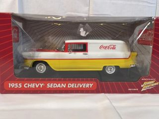 Coca Cola 1955 Chevy Sedan Delivery Truck