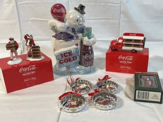 Coco Cola Christmas set