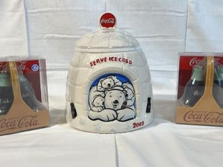 Coca Cola IJServe Ice ColdIJ 2005 cookie jar