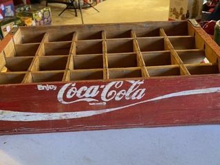 IJEnjoy Coca ColaIJ wooden bottle carrier