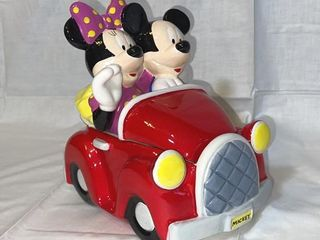 Disney Mickey   Minnie Mouse cookie jar