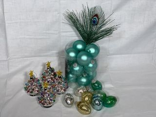 Asst  Christmas tree ornaments