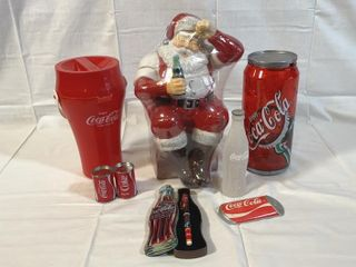 13  Coca Cola Santa Cookie Jar