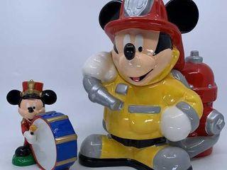 Disney Mickey Mouse Fireman cookie jar
