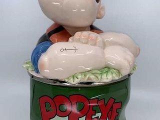 Enesco Popeye cookie jar