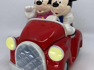 DisneyIJs Mickey Minnie Car cookie jar