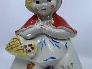 Hull little Red Riding Hood cookie jar
