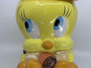 looney Tunes Tweety cookie jar