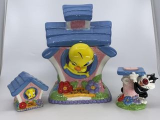 looney Tunes Tweety Home cookie jar