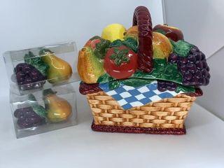 Bountiful Basket cookie jar