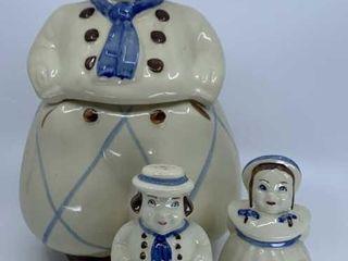Shawnee Dutch Boy cookie jar