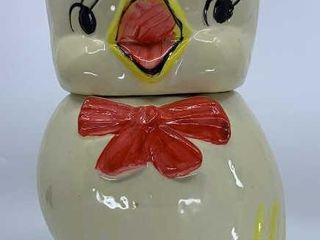 Baby Duck cookie jar