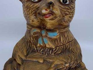 Maurice of Calif  Teddy Bear w  drum cookie jar