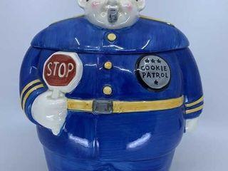 Clay Art Cookie Patrol cookie jar