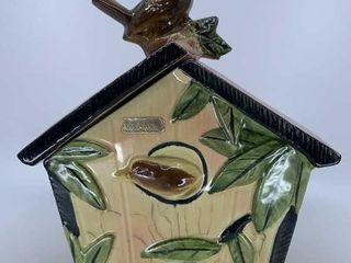 McCoy Wren House cookie jar