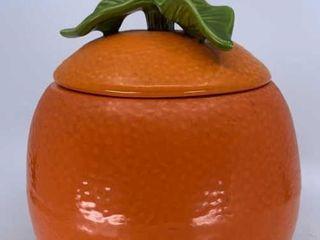 McCoy Orange cookie jar