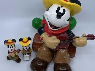Disney Cowboy Mickey cookie jar