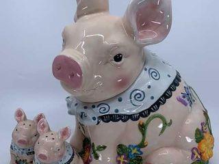 Mercuries Pig cookie jar